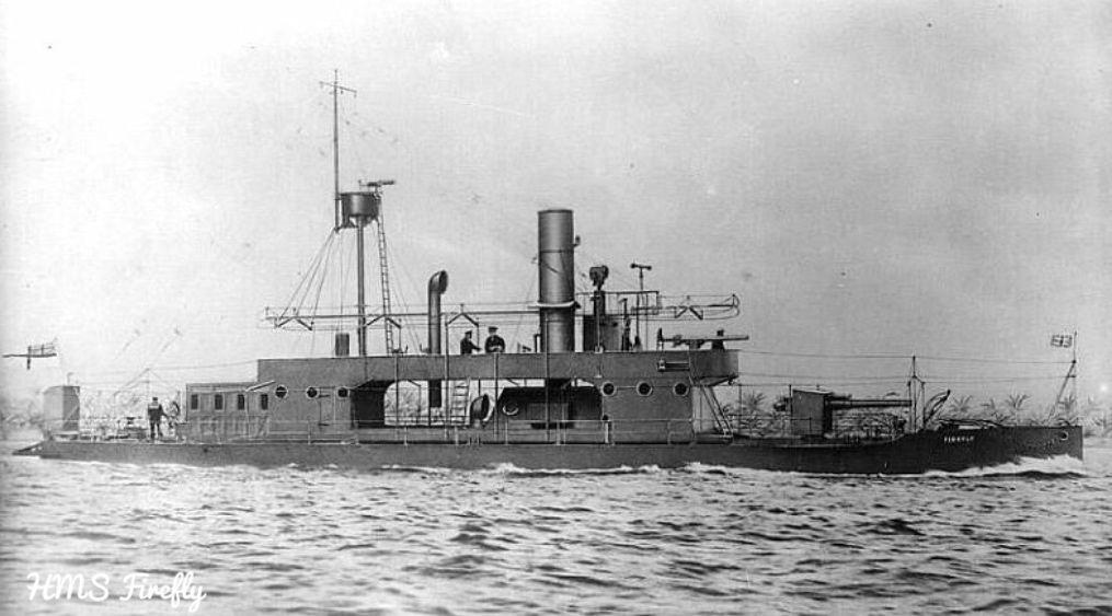 HMS Firefly, river gunboat river gunboats Pinterest Fireflies