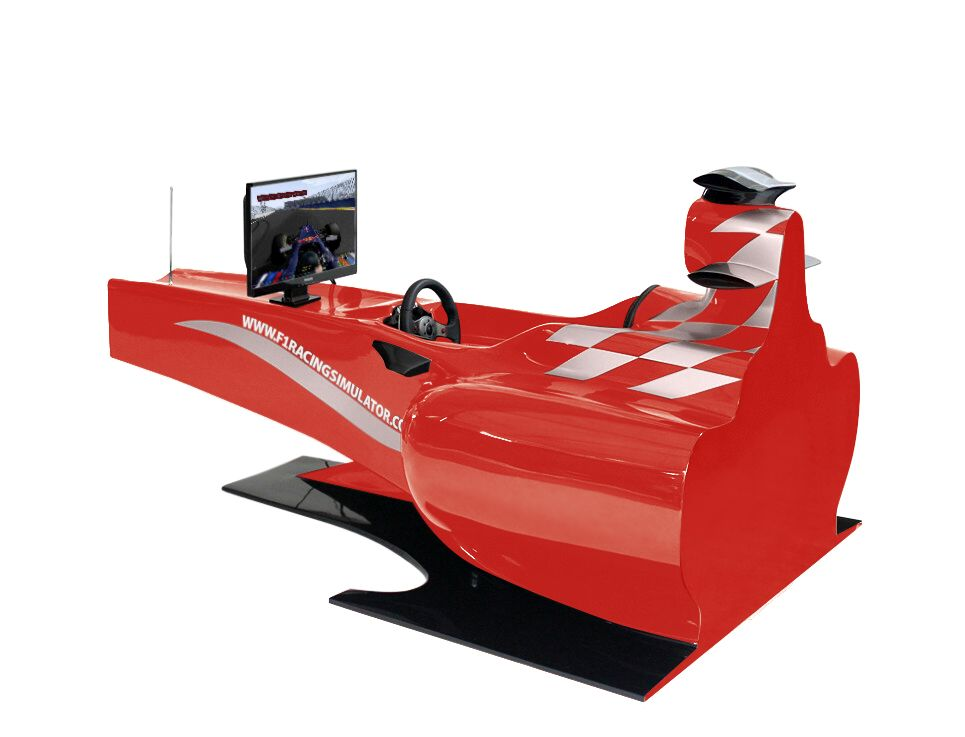 Full Size Formula One Show Car F1 Racing Car Simulator By Asian