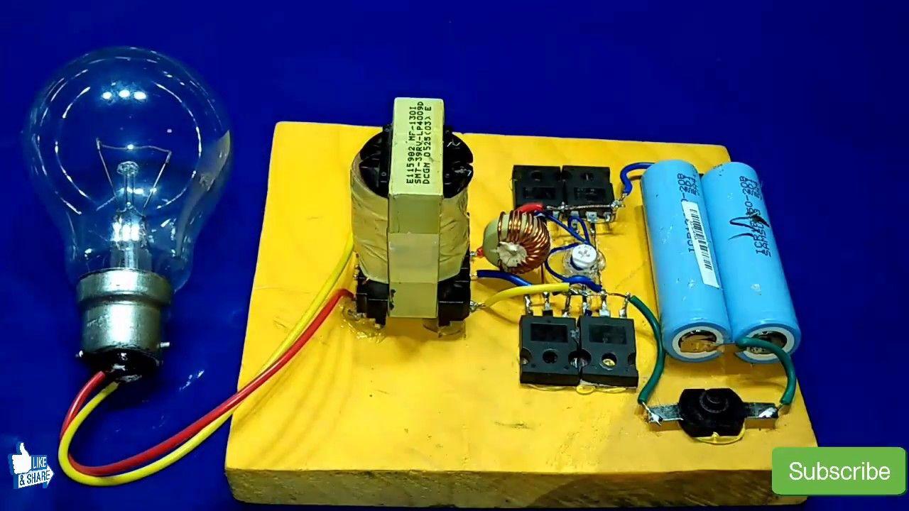 Inverter 3v To 220v 500watt How To Make Inverter Without Circuit