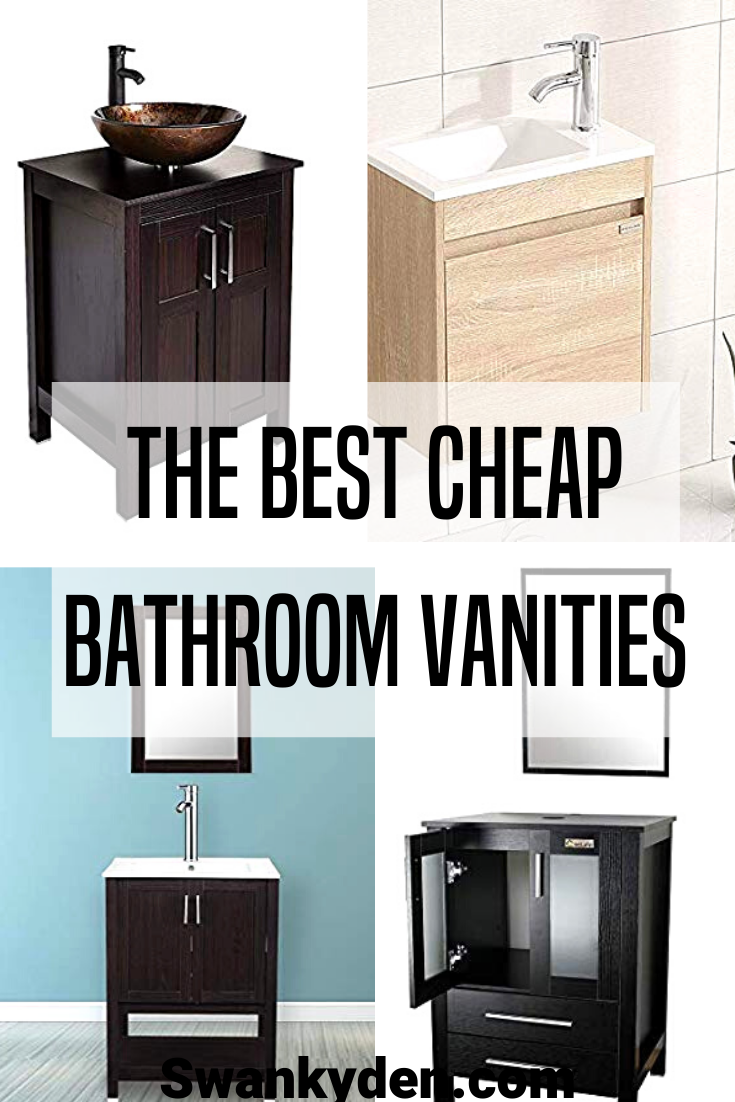 Cheap Bathroom Vanities Under $200 (With images) | Cheap ...