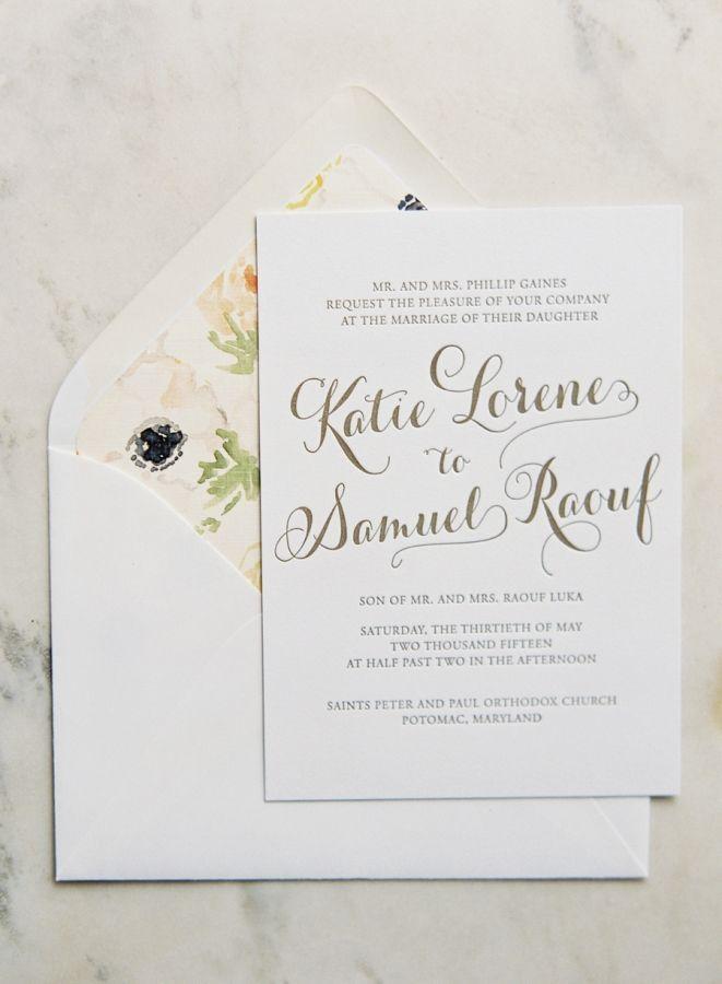 Classic Washington D C Ballroom Wedding Gold