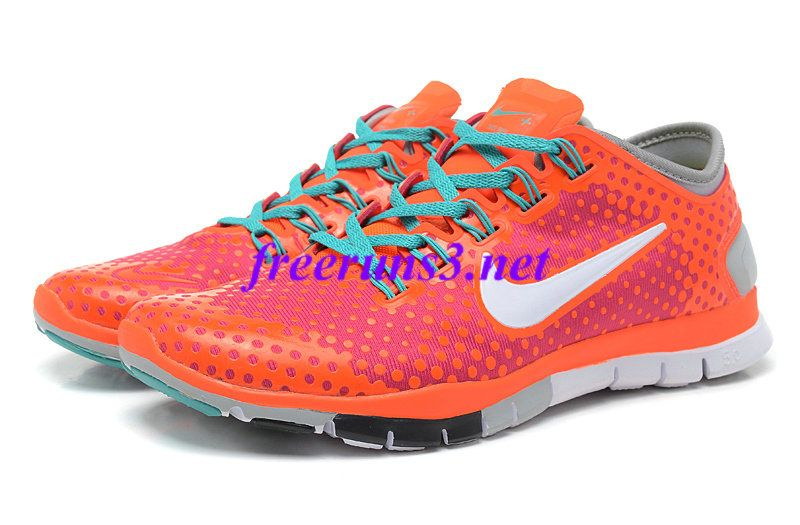 half off 5ec88 39ac4 77K65i Mens Nike Free Tr Fit Red Purple Mango White Light Grey Training  Shoes