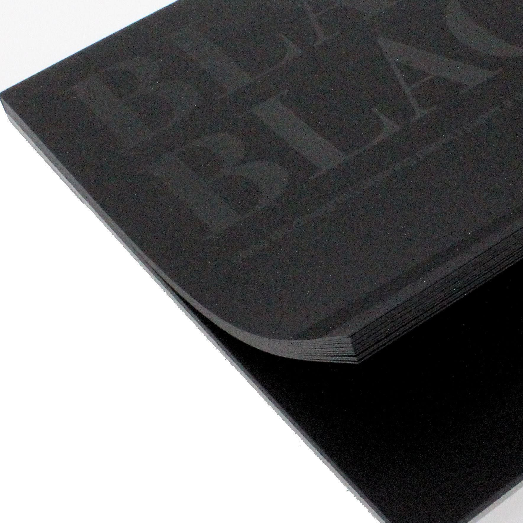 Fabriano Black Black Drawing Paper Pad A4 20 Sheets 300gsm With