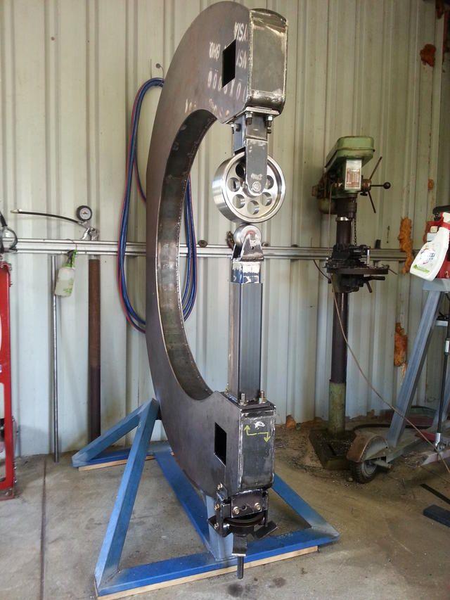 Home Made English Wheel Sheet Metal Tools English Wheel Metal Working Machines