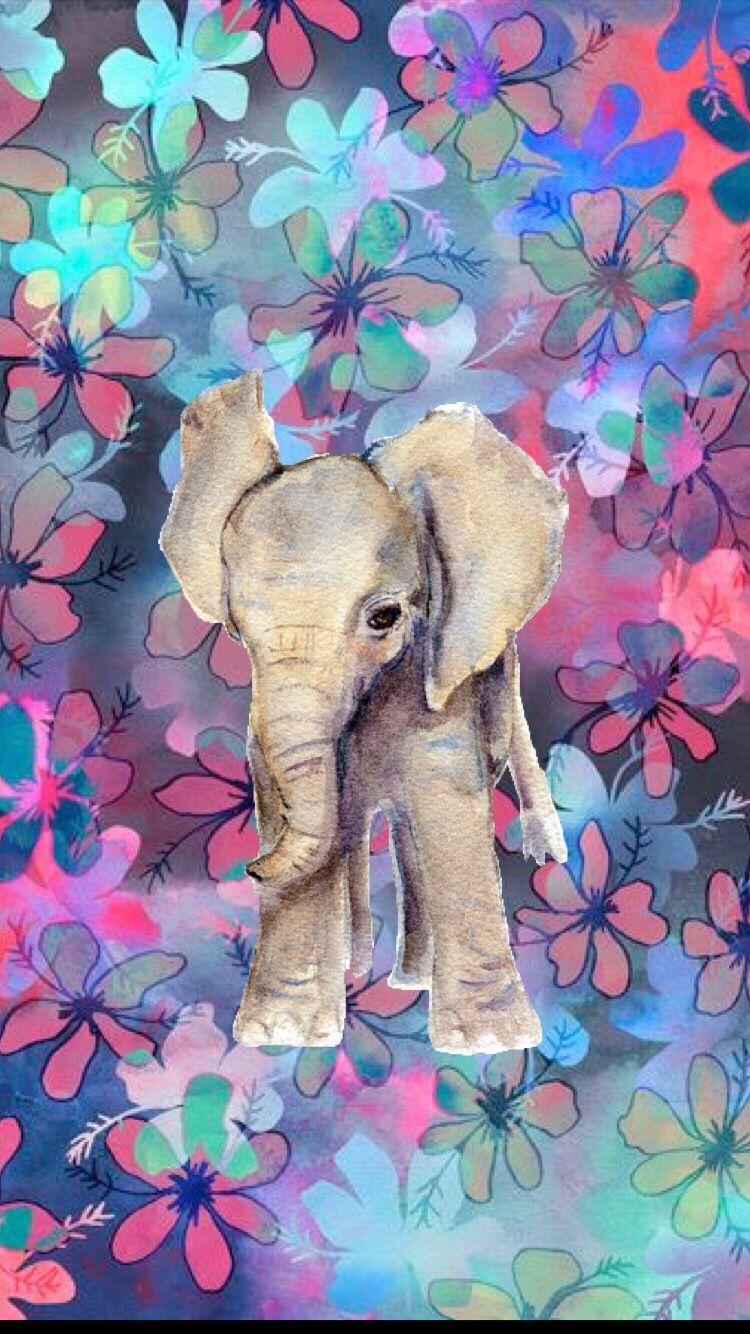 Hispter elephant   Elephant wallpaper, Elephant iphone wallpaper ...