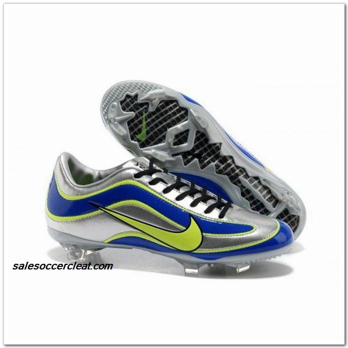 Nike Mercurial Vapor XV Super Ltd Edition Mercurial IX R9 Chrome Soccer Shoes Silver Volt Blue Green