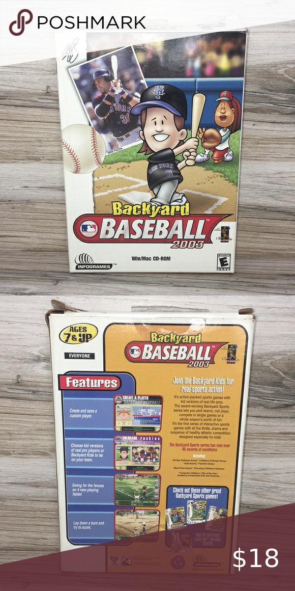 Backyard Baseball 2003 in 2020 | Backyard baseball ...