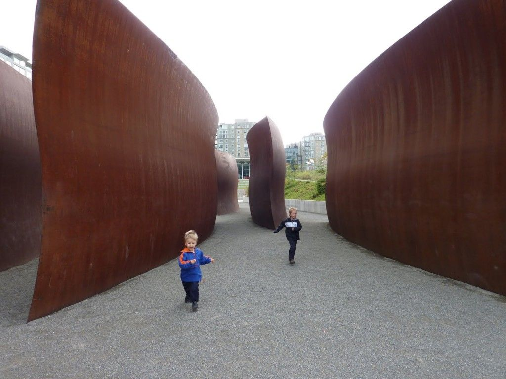 Olympic Sculpture Park in Seattle, WA
