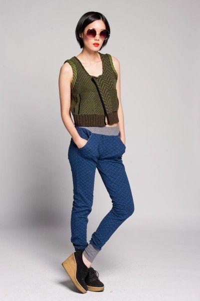 Reale Compatibile Waffle Knit Leggings $164 #fashion #leggings #knit