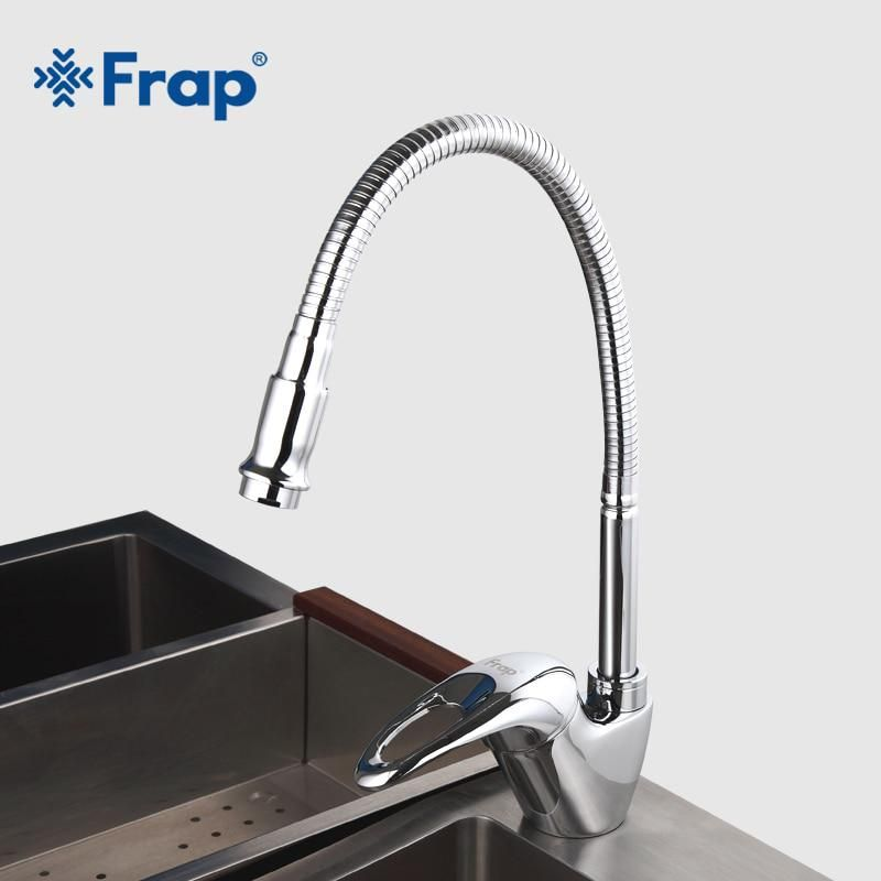 Frap New Arrival Kitchen Faucet Universal Direction Single Handle
