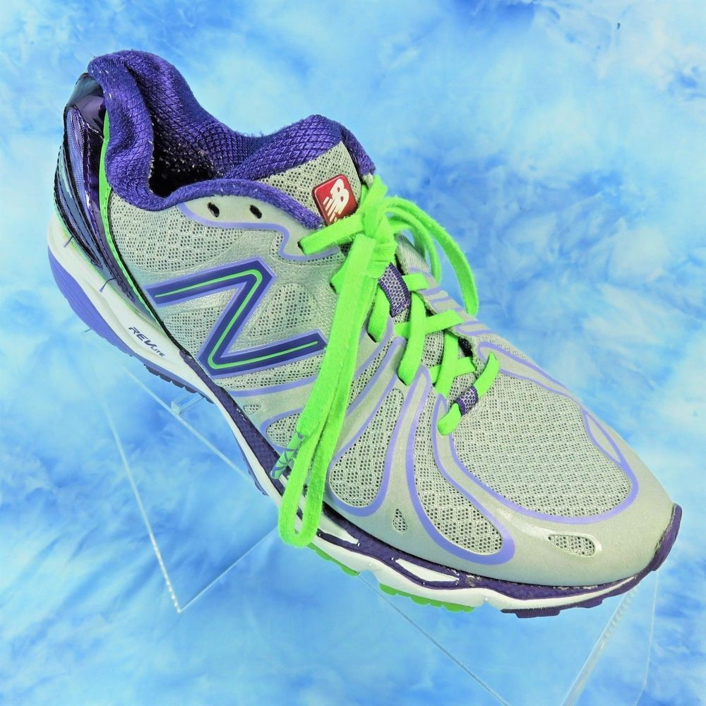 instante si Humilde  NEW BALANCE 890V3 Womens 8.5 Silver Purple Neon Running Shoes RevLite  W890SP3 | Neon running shoes, Latest shoe trends, Cute high heels
