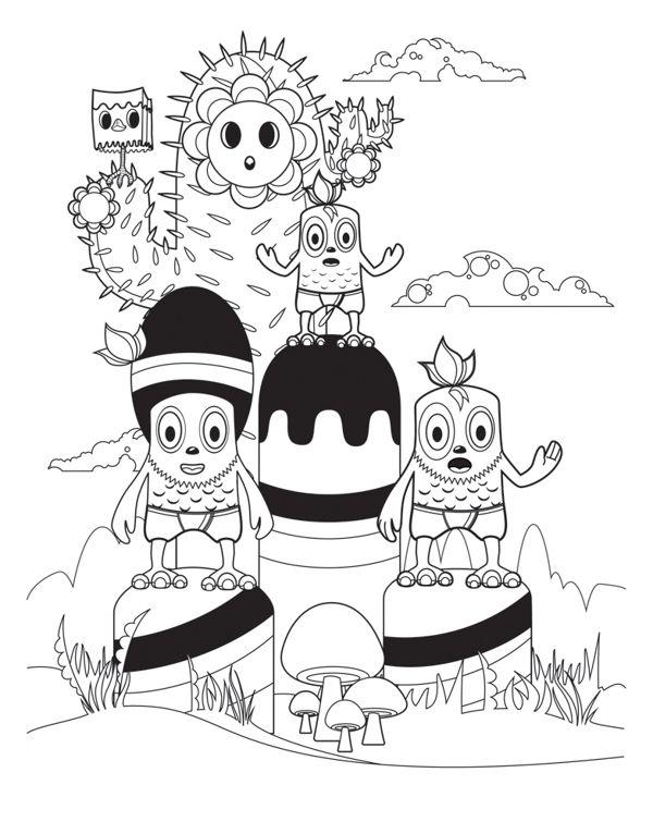 Color Ink Book by Teodoru Badiu, via Behance | Illustrations ...
