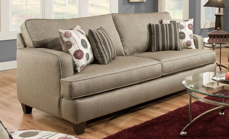 Pewter Sofa Jessa Place Pewter Casual Sectional Sofa With