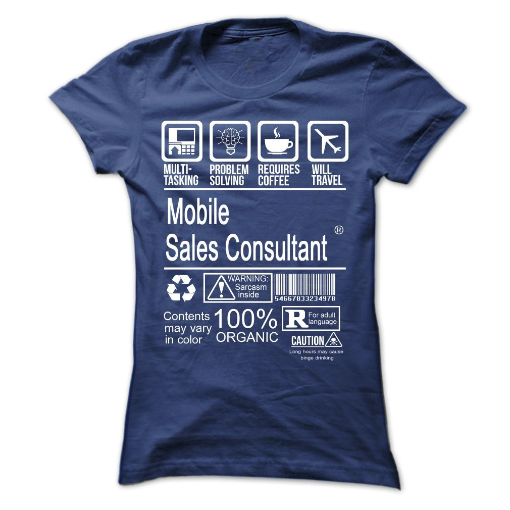 Order this limited edition Mobile Sales Consultant