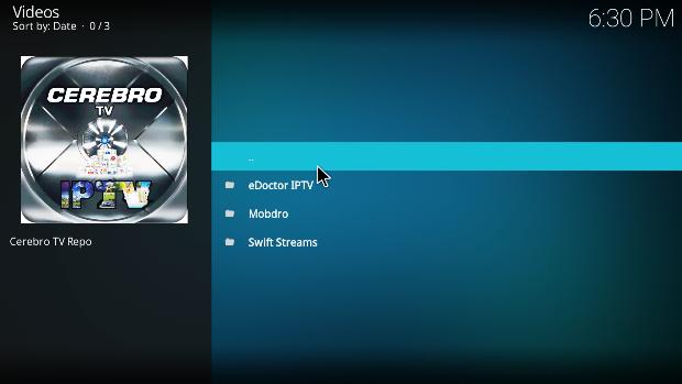 How To Install Cerebro Iptv Addon On Kodi Kodi Streaming Movies Installation