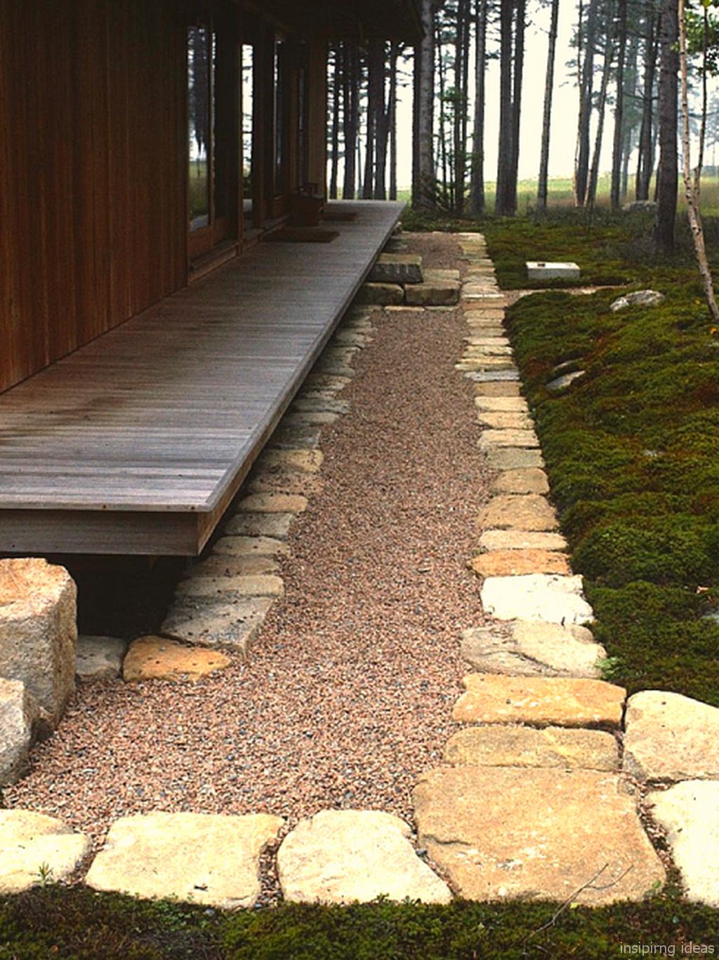 adorable 150 beautiful gravel patio design ideas https on extraordinary garden stone pathway ideas to copy id=59672