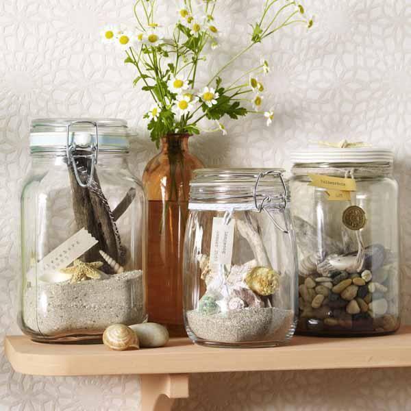 Einfache Dekoration Und Mobel Zuhause Einen Kuehlen Kopf Bewahren #15: Schöne Deko Aus Naturmaterial