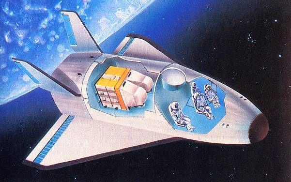 1984 Hermes Spaceplane | Space nasa
