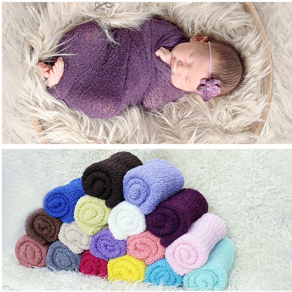 Soft Mohair Bohemian Swaddle Newborn Photography Wrap