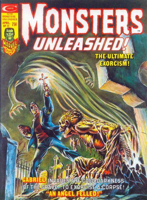 Monsters Unleashed #11 - Frank Brunner cover