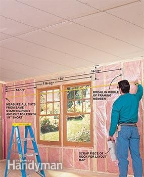 How To Hang Drywall Like A Pro Hanging Drywall Drywall Installation Drywall