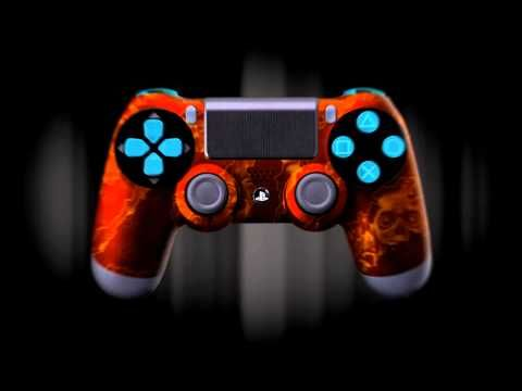 Custom Playstation 4 Controllers Presented By Evil Controllers Game Controller Ps4 Controller Ps4 Controller Custom