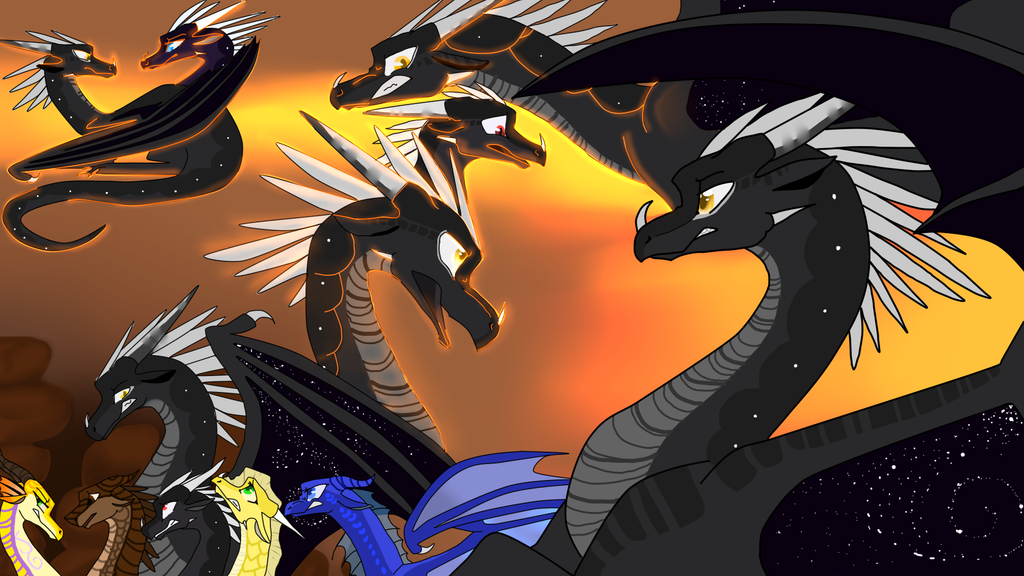 Morrowseer Wallpaper By Warriorcats303 On Deviantart Wings Of Fire Dragons Wings Of Fire Mythical Animal