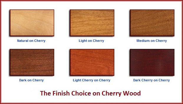 Cherry Wood From The American Black Fruit Tree Is Perhaps Most Prized