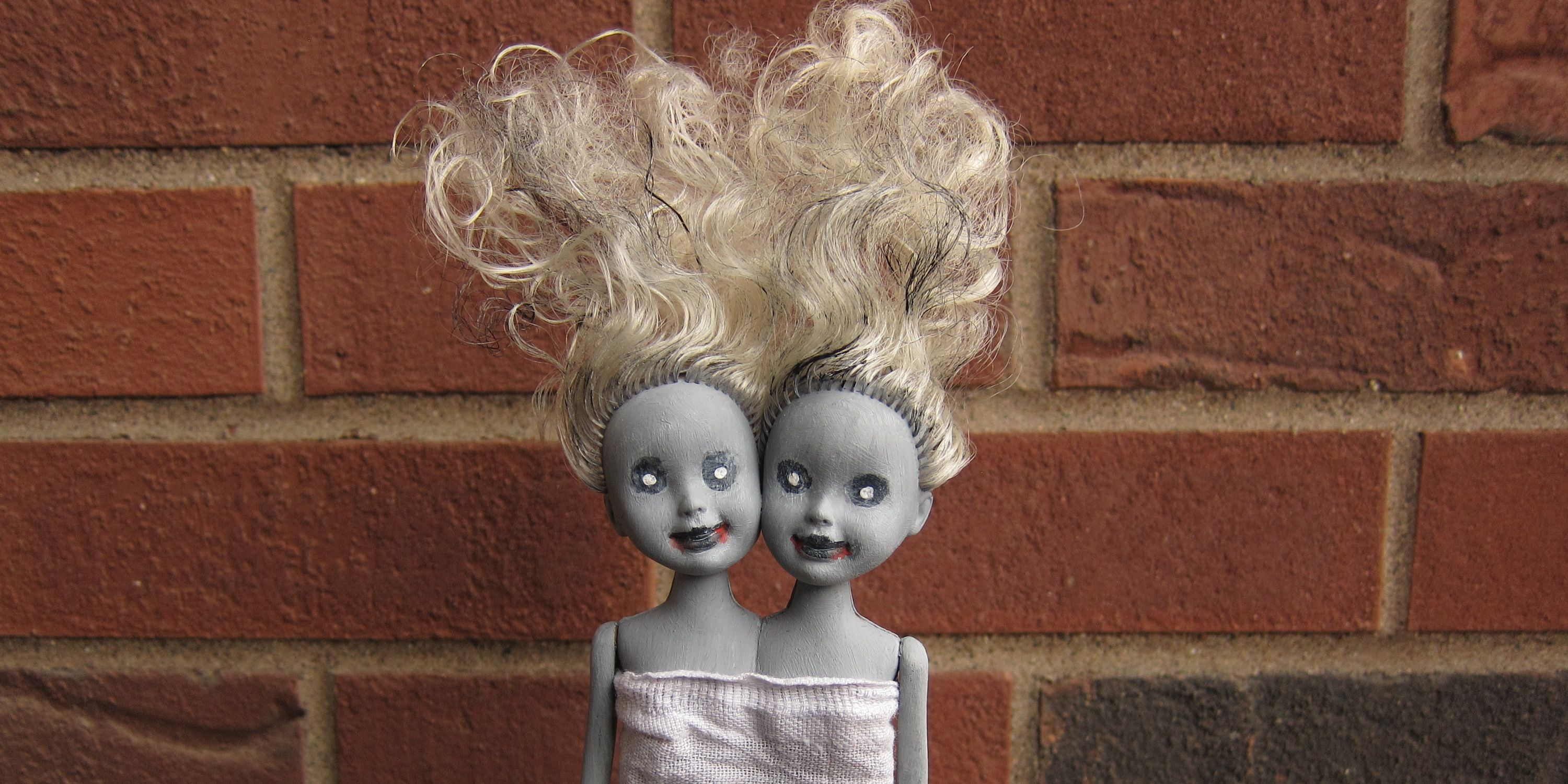 Just Crafty Enough – Project: Zombie Siamese Twin Dolls