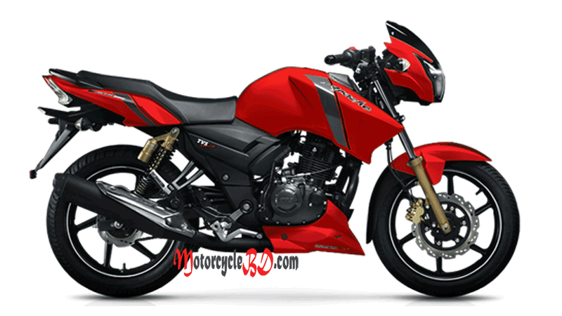 Tvs Apache Rtr 150 Double Disc Price In Bangladesh Matte Red