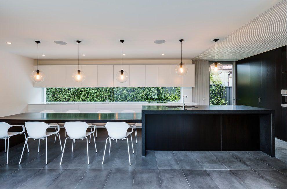 vintage metal dining chairs  moderne küche küche grün