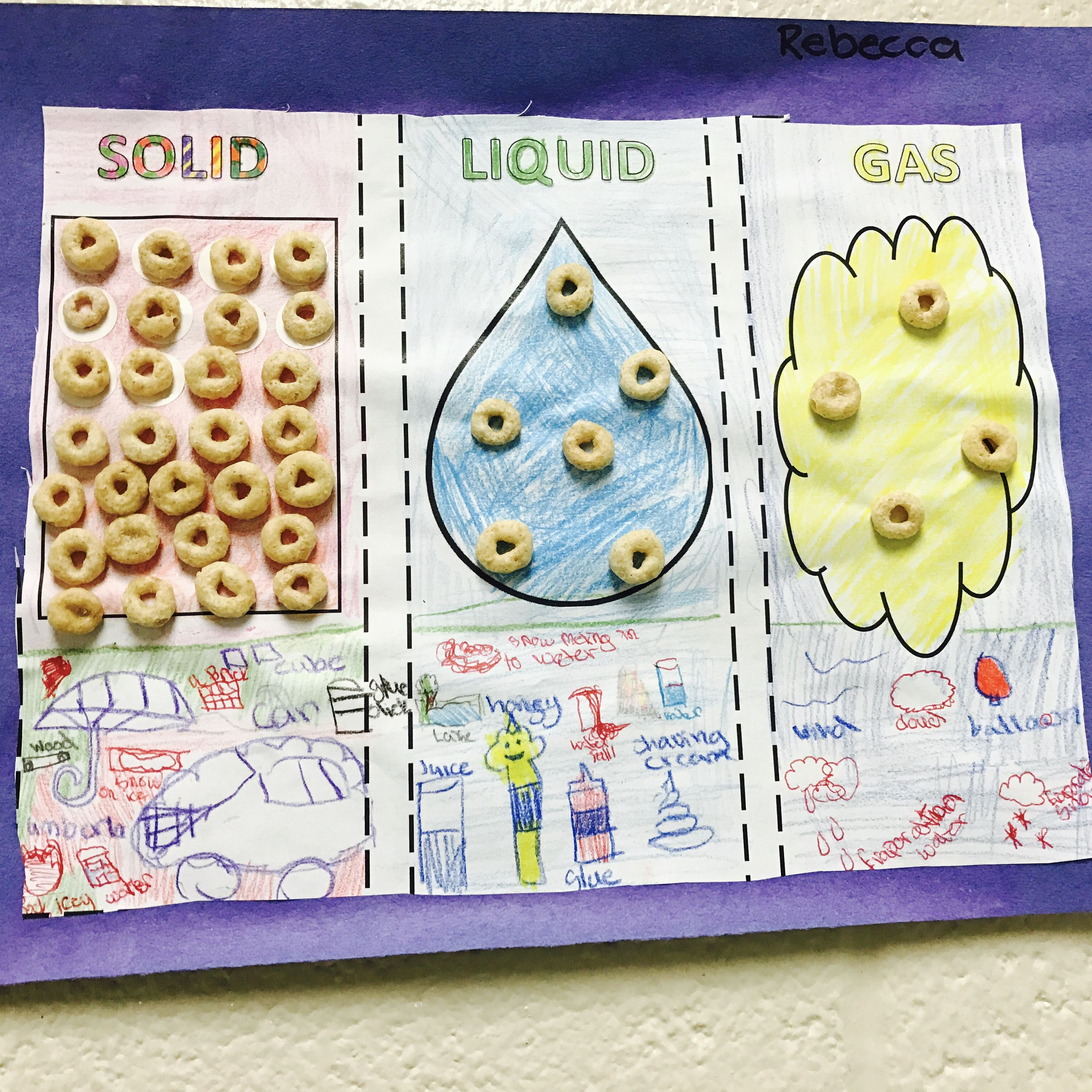 Science Craft Solids Liquids Gas