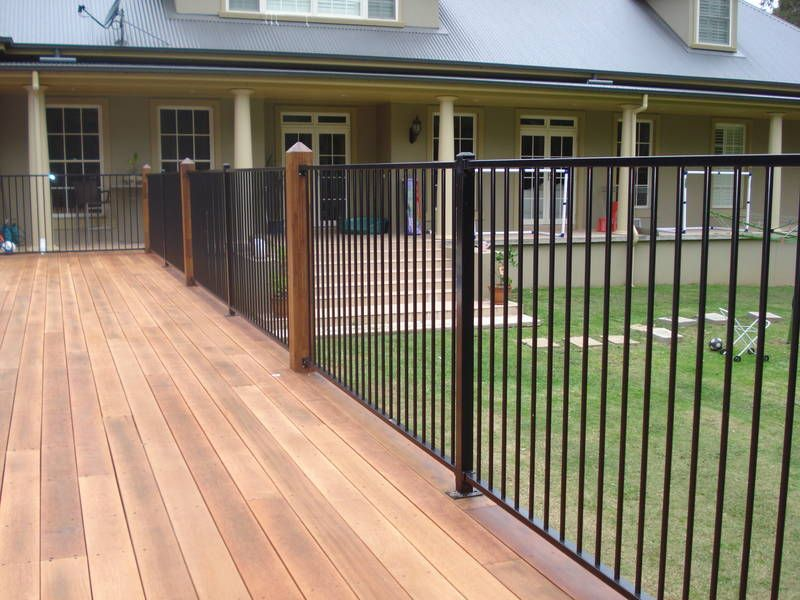 Image Result For Attaching Aluminium Pool Fence Panels To
