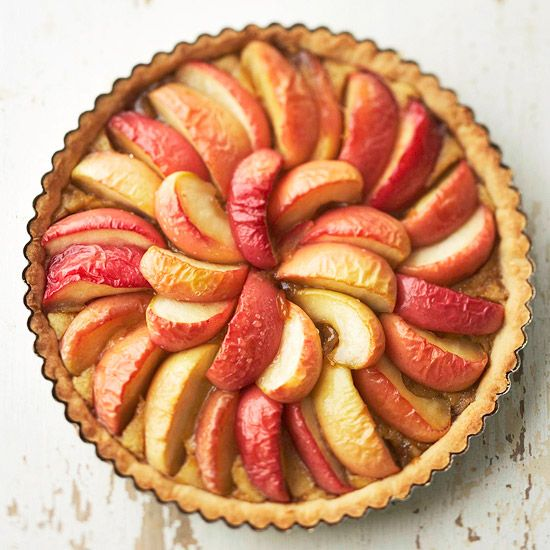 Honeycrisp Apple and Browned Butter Tart - So have to bake this soon!