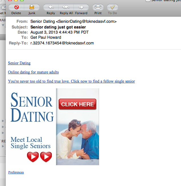 how to reply to an email online dating