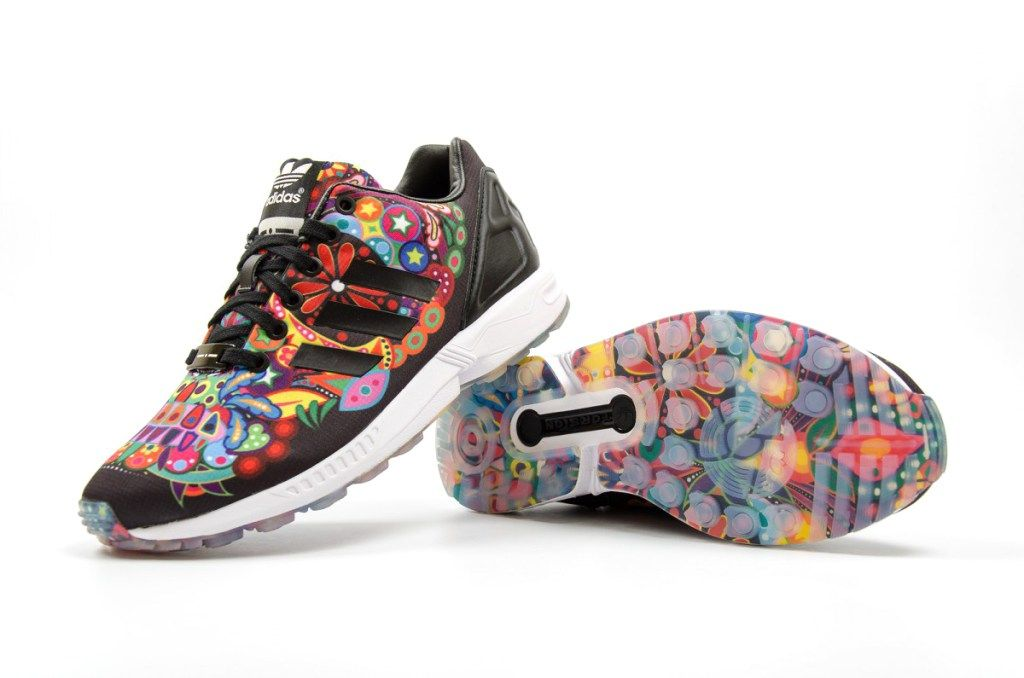73f977b860ea6 Italia Independent x adidas ZX Flux Collection Brings Vivid Prints to Your  Workout