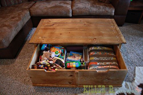 Apothecary Trundle Coffee Table Or Toy Box Diy Toy Storage Diy