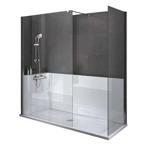 Kit de douche à l\'italienne Ideal Standard pour une douche modulable ...