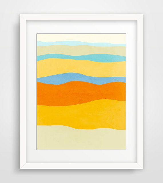 Art Print Abstract, Mid Century Modern Art, Minimalist Art, Modern ...
