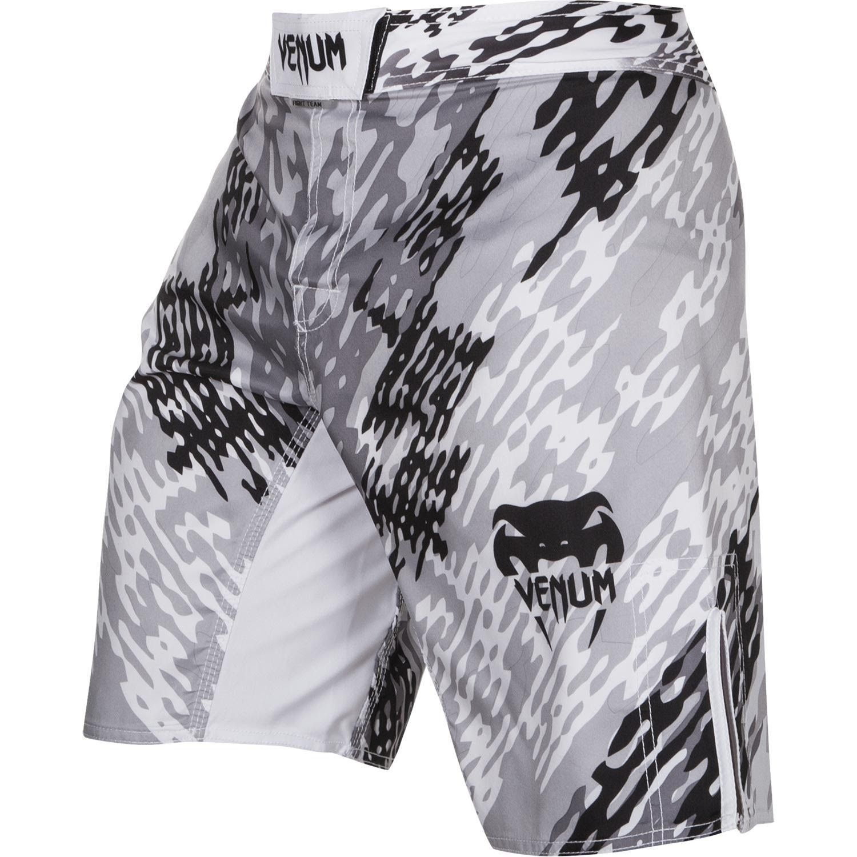 Venum Pixel Fight Shorts Black//Grey//Orange