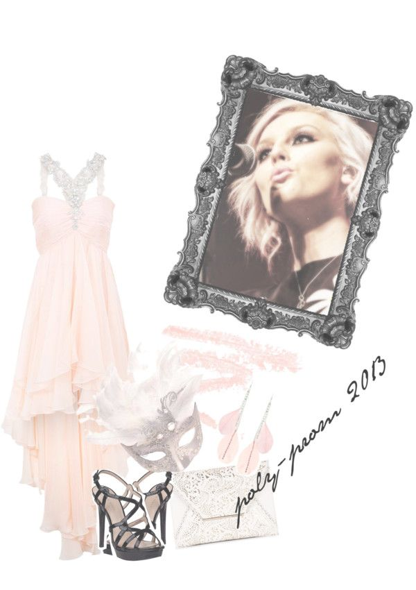 """""""•poly-prom•"""" by perrieedwards-xx ❤ liked on Polyvore"""