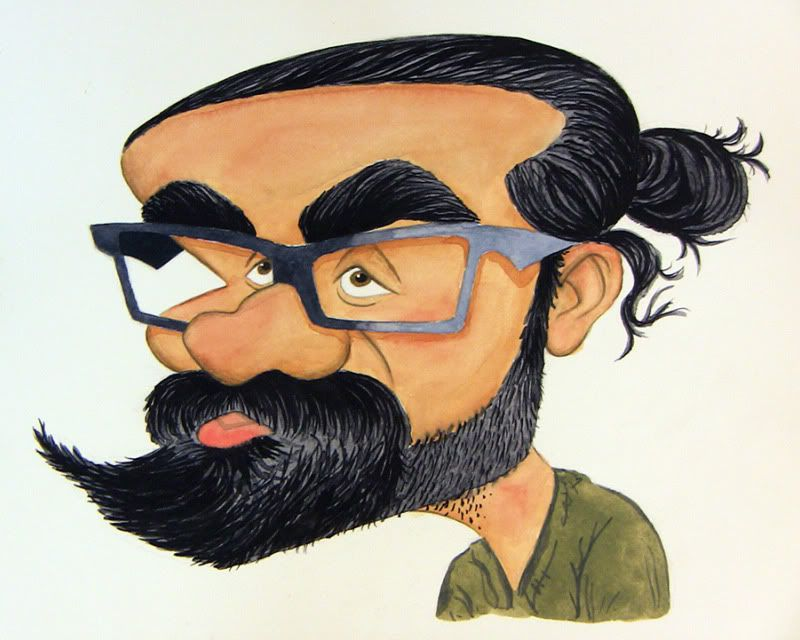 Caricatures and illustrations by brian vasilik 2010