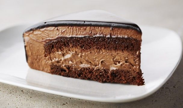 Rich choclate mousse cake bake with anna olson the home channel rich chocolate mousse cake saw the episode last night with this other anna olson recipes classic devils food red velvet petit fours all are a forumfinder Gallery