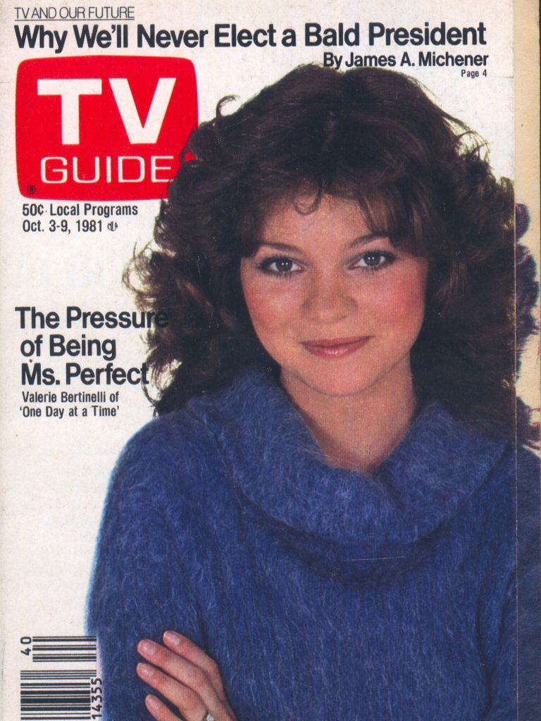 Valerie Bertinelli On Tv Guide Tv Guide Tvs Guide