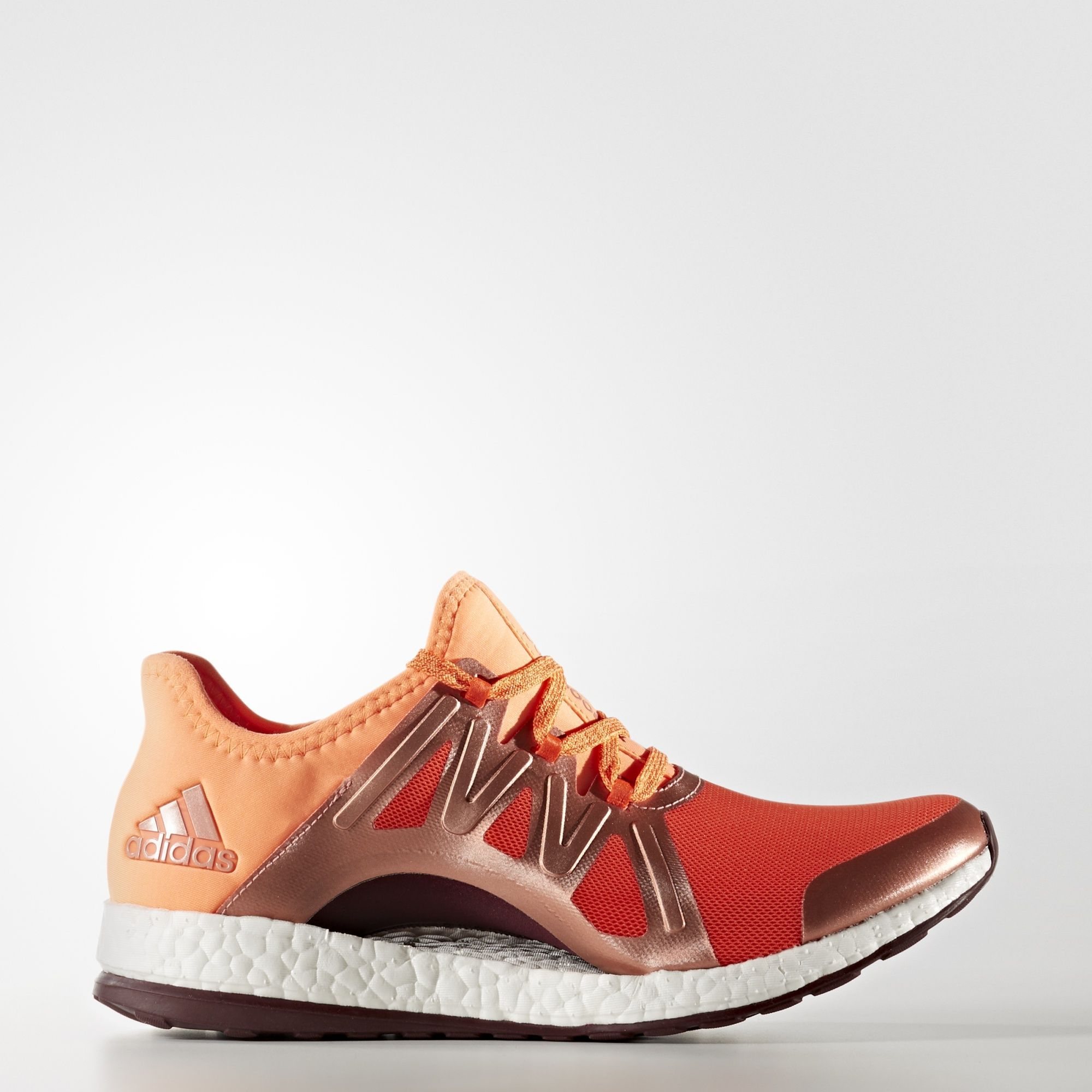 39407273f adidas - PureBOOST Xpose in Energy   Glow Orange   Maroon