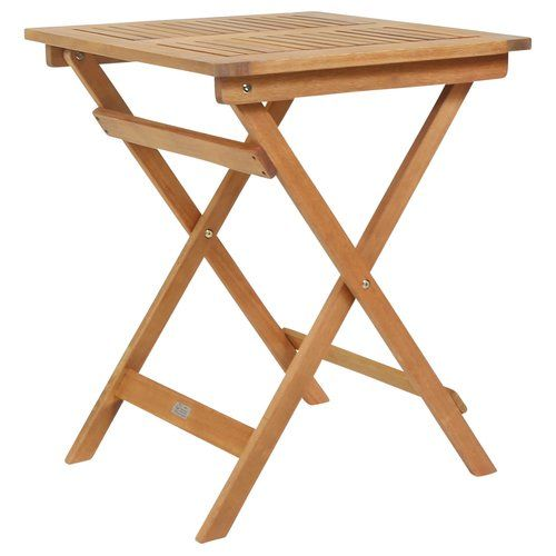 Andy Folding Wooden Bistro Table