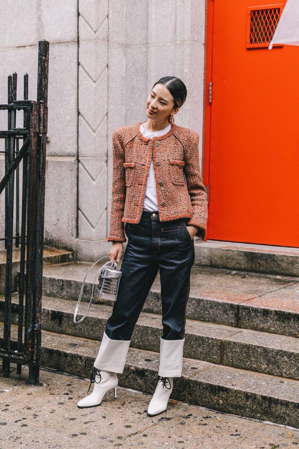 Cuatro Formas De Llevar Botines Con Cordones Si Quieres Presumir De Estilo Y No Te Van Las Dr Martens Semana De La Moda Moda Nueva York Estilo De Calle