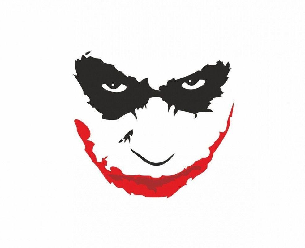 The Joker Heath Ledger The Dark Knight Mouse Mat In