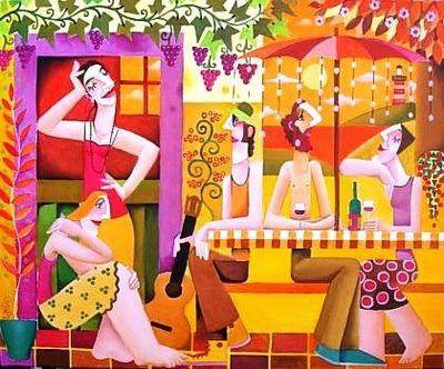 Gaudint de l'estiu:il·lustracions de Leandro Lamas / Disfrutando del verano / Enjoying summer: Leandro Lamas illustrations