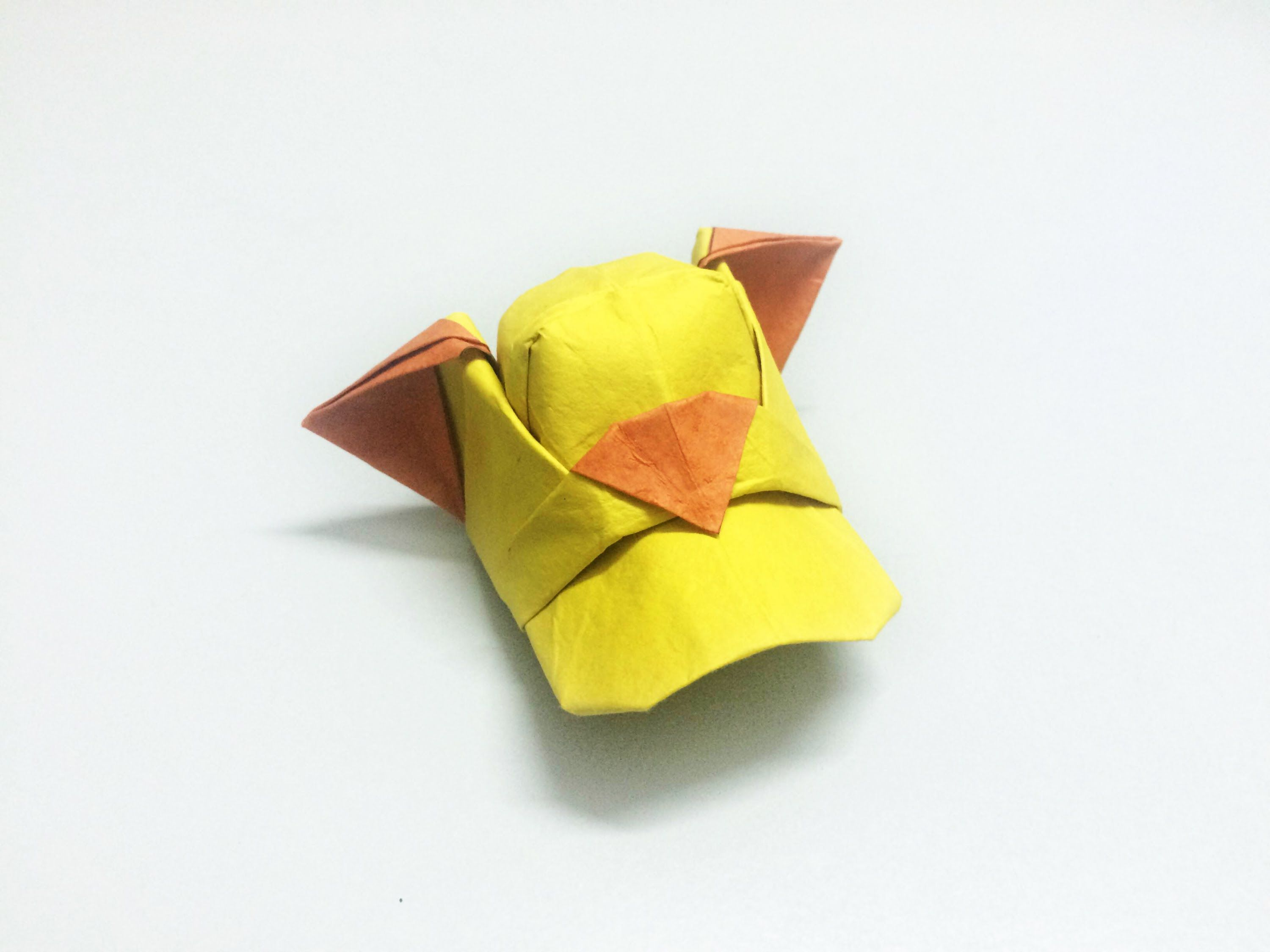 Origami Mario Cap Instructions Tutorial Handmade Link By Wakeangel2001 On Deviantart Wing Paperph2